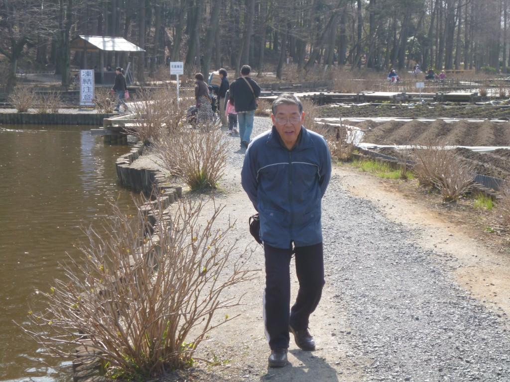♪丸山公園へお散歩♪