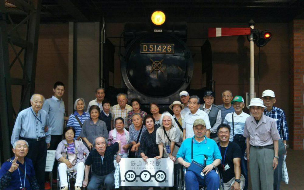 鉄道博物館&榎本牧場&お好み焼きの日♪