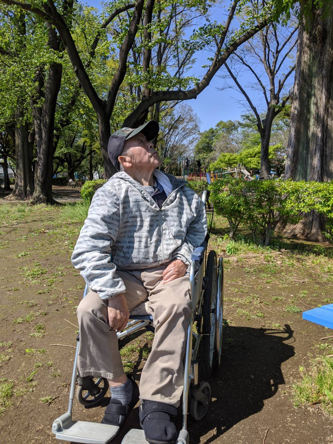 鴨川中央公園🏞️午後のひと時